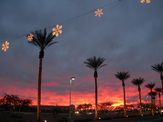 Snowflakes-and-the-western-sky-on-fire