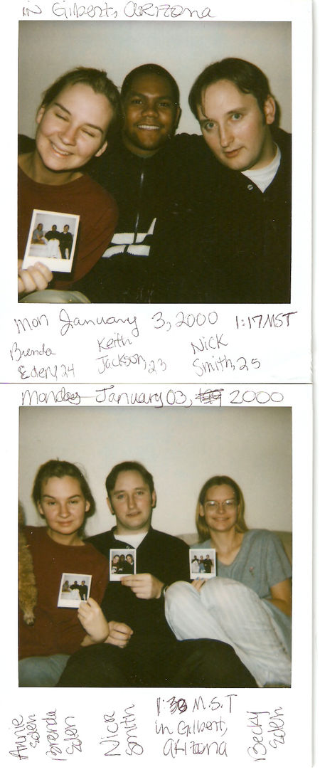 Polaroids from the year 2000_