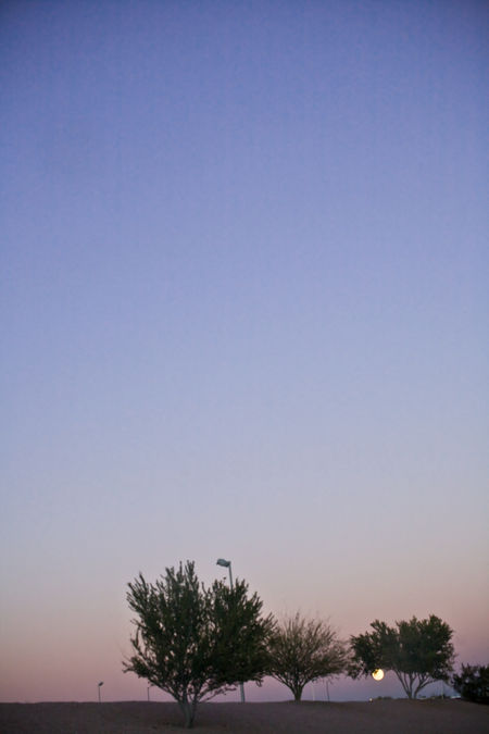 Moonrise-over-dobson-road-freeway-exit