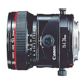 Canon 24mm f3point5 L tilt shift lens