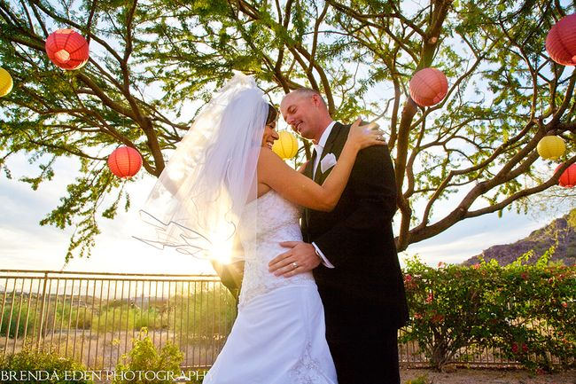 Paris-and-Wes's-gorgeous-sunset-wedding!-Images-by-Brenda-Eden-Photography-(10)
