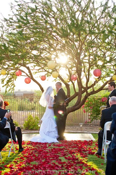Paris-and-Wes's-gorgeous-sunset-wedding!-Images-by-Brenda-Eden-Photography-(3)