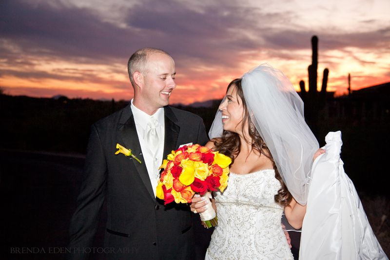 Paris-and-Wes's-gorgeous-sunset-wedding!-Images-by-Brenda-Eden-Photography-(20)