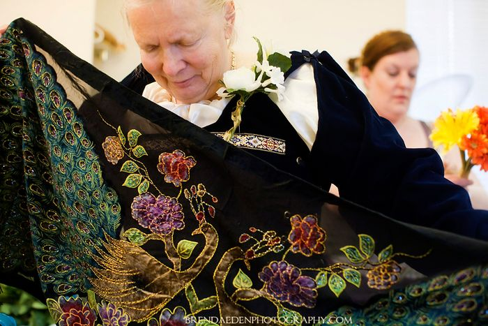 Peacock-Shawl-for-the-Wedding~ARIZONA-RENAISSANCE-WEDDING-~copyright-BRENDAEDENPHOTOGRAPHY.COM