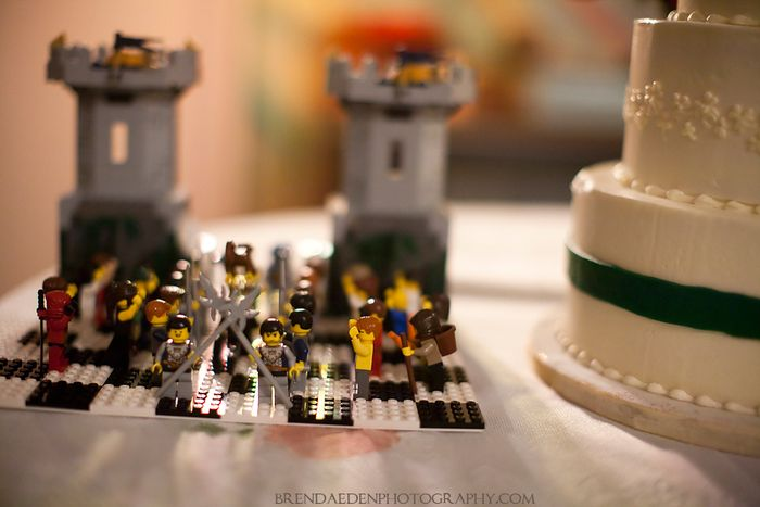 Lego-Castle-Cake-Topper~ARIZONA-RENAISSANCE-WEDDING-~copyright-BRENDAEDENPHOTOGRAPHY.COM
