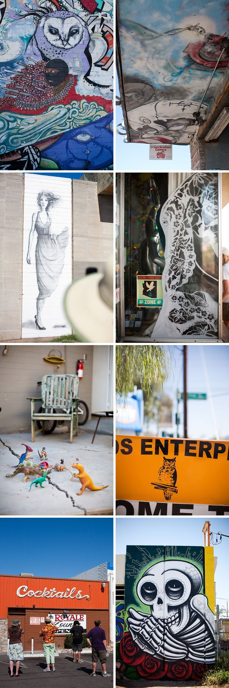 A walk around calle 16 arizona wedding photography for Calle 16 mural project
